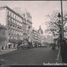 Fotografía antigua: MADRID NEGATIVO ESTEREOSCOPICO CELULOIDE 6 X 13 CM.. Lote 263105190