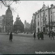 Fotografía antigua: MADRID NEGATIVO ESTEREOSCOPICO CELULOIDE 6 X 13 CM.. Lote 263105215