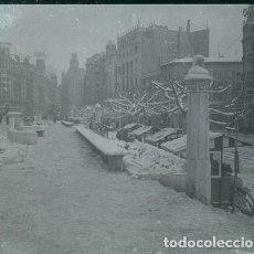 Fotografía antigua: MADRID NEGATIVO ESTEREOSCOPICO CELULOIDE 6 X 13 CM.. Lote 263105240
