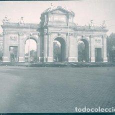 Fotografía antigua: MADRID NEGATIVO ESTEREOSCOPICO CELULOIDE 6 X 13 CM.. Lote 263105245