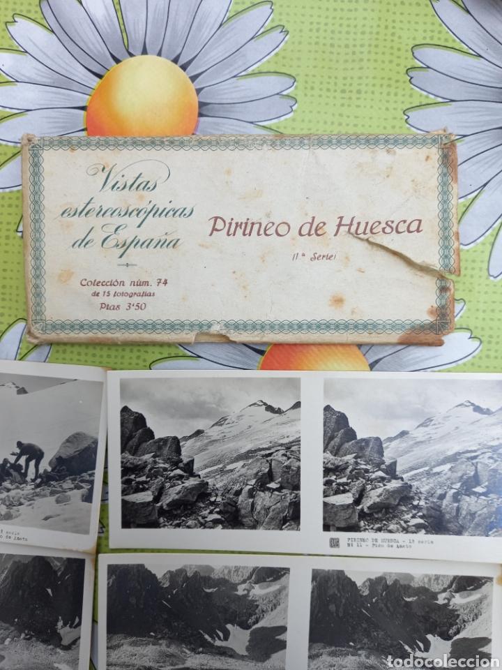Fotografía antigua: VISTAS ESTEREOSCOPICAS DE ESPAÑA PIRINEOS DE HUESCA (1SERIE) 15 FOTOS RELLEV EN BUEN ESTADO - Foto 5 - 268741774