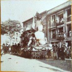 Fotografia antiga: VALENCIA CABALGATA CIRCULO DE BELLAS ARTES CARRO DE BELLAS ARTES. Lote 269086463