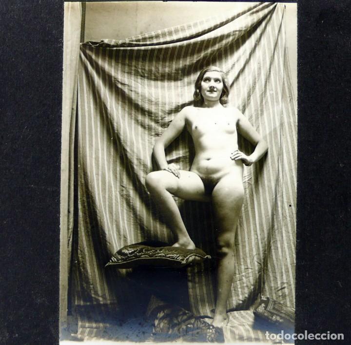 FOTOGRAFÍAS ERÓTICAS ARTÍSTICAS - COLECCIÓN DE 19 FOTOGRAFÍAS ESTEREOSCÓPICAS - CA.1900 (Fotografía Antigua - Estereoscópicas)