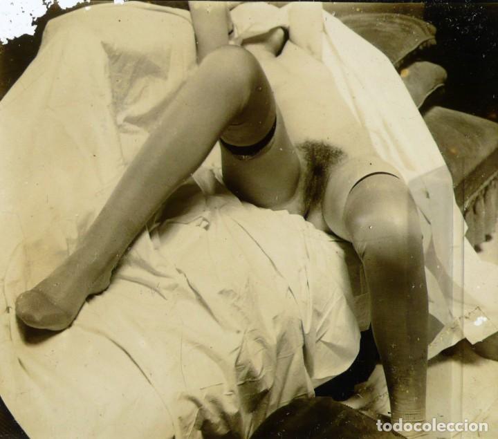 Fotografía antigua: Fotografías eróticas artísticas - Colección de 19 fotografías estereoscópicas - Ca.1900 - Foto 2 - 272998978