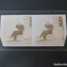 Fotografia antica: HOYOS ALICANTE J. VIUDES FOTOGRAFO JUAN VIUDES VISTA ESTEREOSCOPICA HACIA 1890. Lote 275447773