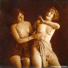 Fotografía antigua: FOTOGRAFÍAS ERÓTICAS ARTÍSTICAS - COLECCIÓN 17 FOTOGRAFÍAS ESTEREOSCÓPICAS - CA.1900. Lote 277182573