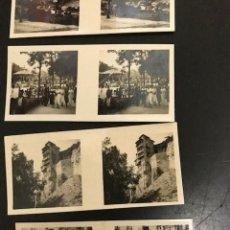 Fotografía antigua: 5 CROMOS ESTEREOSCÓPICOS. ESPAÑA Y SUS BELLEZAS. CUENCA. Lote 277290643