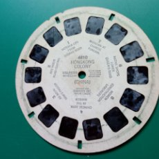 Fotografía antigua: DISCO VIEW-MASTER (4810) - HONG KONG COLONY (CHINA) - TRIDIMENSIONAL KODACHROME - 1949 - VISTAS 3D. Lote 283363973