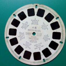 Fotografía antigua: DISCO VIEW-MASTER (FT-6) - RAYITO DE SOL Y LOS 3 OSOS - TRIDIMENSIONAL KODACHROME - 1946 - VISTAS 3D. Lote 283364183
