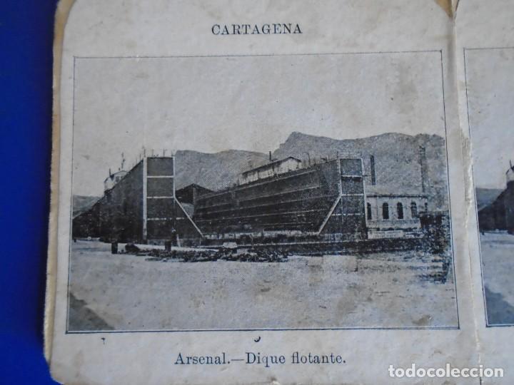 (ES-190903)ESTEREOSCOPICA DE CARTAGENA-ARSENAL DIQUE FLOTANTE (Fotografía Antigua - Estereoscópicas)