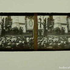 Fotografia antiga: CHELVA, VALENCIA, VISTA - PLACA POSITIVO EN CRISTAL ESTEREOSCOPICO - AÑO 1929, DOMINGO URIEL. Lote 293344298