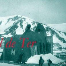 Fotografía antigua: REFUGI ULL DE TER - 1926 - NEGATIU D'ACETAT - 4 X 6,5 CM.. Lote 294380388