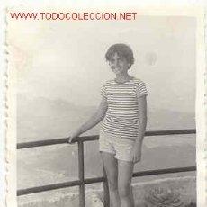 Fotografía antigua: UNA JOVENCITA MUY LINDA MIDE 10CM X 7 CM . Lote 6893929