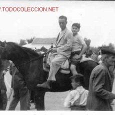 Fotografía antigua: UNA ROMERÍA ANDALUZA MIDE 10CM X 7. Lote 1552830