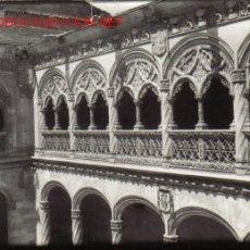 Fotografía antigua: FOTOGRAFIA DE GALERIA ALTA DEL MUSEO - VALLADOLID. Lote 12460423