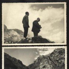 Fotografía antigua: PICOS DE EUROPA, POTES. LOTE DE 8 FOTOGRAFÍAS DE GRAN CALIDAD EN PAPEL BARITADO 1950 ? BUSTAMANTE ?. Lote 25020974