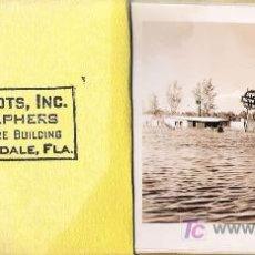 Fotografía antigua: HURACÁN E INUNDACIÓN -FORT LAUDERDALE ( FLORIDA) , SEPT-OCTUBRE 1947. (20 FOTOGRAFÍAS ORIGINALES). Lote 23614528