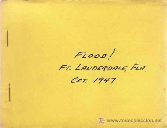 Fotografía antigua: Huracán e inundación -Fort Lauderdale ( Florida) , sept-octubre 1947. (20 fotografías originales) - Foto 2 - 23614528