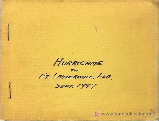 Fotografía antigua: Huracán e inundación -Fort Lauderdale ( Florida) , sept-octubre 1947. (20 fotografías originales) - Foto 4 - 23614528