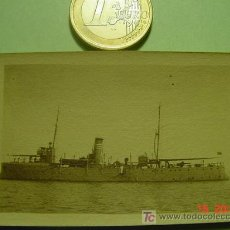 Fotografía antigua: 4599 BARCO DE GUERRA - MELILLA -GUERRA DE MARRUECOS - FOTOGRAFIA ORIGINAL -AÑO 1922-COSAS&CURIOSAS. Lote 10086210