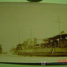 Fotografía antigua: 4602 BARCO DE GUERRA - MELILLA -GUERRA DE MARRUECOS - FOTOGRAFIA ORIGINAL -AÑO 1922-COSAS&CURIOSAS. Lote 10808487