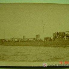 Fotografía antigua: 4604 BARCO DE GUERRA - MELILLA -GUERRA DE MARRUECOS - FOTOGRAFIA ORIGINAL -AÑO 1922-COSAS&CURIOSAS. Lote 12334755