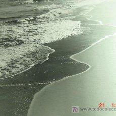 Fotografía antigua: 1513 PRECIOSA FOTOGRAFIA GRANDE PARA DECORAR 46 X 30 CM PLAYA - MAS EN COSAS&CURIOSAS. Lote 10003850