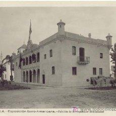 Fotografía antigua: SEVILLA EXPOSICIÓN IBERO-AMERICANA (AÑO 1929) PABELLÓN REPÚBLICAS DOMINICANAS. Lote 22118497