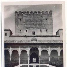 Fotografía antigua: GRANADA, ALHAMBRA, PATIO DE LOS ARRAYANES Y TORRE DE COMARES. Lote 6478992