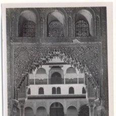 Fotografía antigua: GRANADA, ALHAMBRA, DETALLE DEL PATIO DE LOS ARRAYANES. Lote 6479081