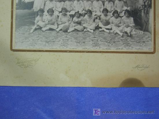 Fotografía antigua: antigua fotografia de niñas de un colegio de madrid - fotografo vanderman - Foto 2 - 26600267