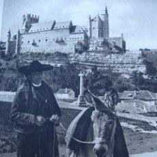 Fotografía antigua: SEGOVIA,1922,15X21,DE KURT HIELSCHER,DEL LIBRO. DAS UNBEKANNTE SPANIEN. Lote 21253321
