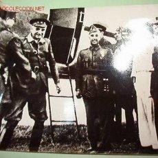 Fotografía antigua: LLEGADA DE FRANCO A SEVILLA EN EL AÑO 1936. Lote 1075215