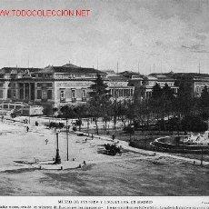 Fotografía antigua: MUSEO DE PINTURA Y ESCULTURA EN MADRID. Lote 15691559
