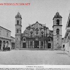 Fotografía antigua: CATEDRAL DE LA HABANA (CUBA). Lote 2506890