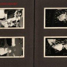 Fotografía antigua: ÁLBUM FOTOS 1918-1919 DE 48 FOTOGRAFÍAS LA MAYORÍA SON DE UN NIÑO CON SU NIÑERA ..GRAN VÍA DE BILBAO. Lote 27514155