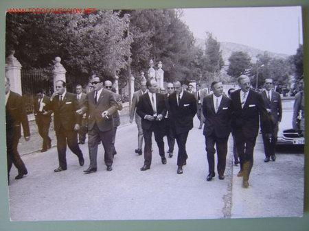 Fotografía antigua: 6 FOTOGRAFIAS DE MANUEL FRAGA IRIBARNE - AÑOS 60 - Foto 4 - 26854204