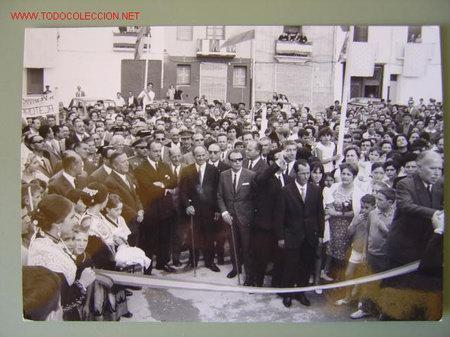Fotografía antigua: 6 FOTOGRAFIAS DE MANUEL FRAGA IRIBARNE - AÑOS 60 - Foto 5 - 26854204