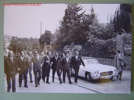 Fotografía antigua: 6 FOTOGRAFIAS DE MANUEL FRAGA IRIBARNE - AÑOS 60 - Foto 6 - 26854204