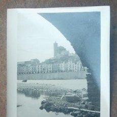 Fotografía antigua: FOTOGRAFIA DE BALAGUER - ES DEL AÑO 1933 AL 1934 MEDIDAS 6,5 X 8,8 CM.. Lote 23022697