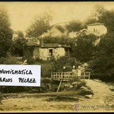 Fotografía antigua: ASTURIAS - COLUNGA. FOTOGRAFIA ORIGINAL DE 1930. GRAN FORMATO.. Lote 24329170
