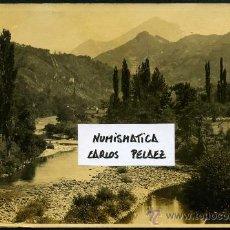 Fotografía antigua: ASTURIAS - CANGAS DE ONIS. FOTOGRAFIA ORIGINAL DE 1930. GRAN FORMATO.. Lote 22764138
