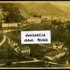Fotografía antigua: ASTURIAS - COVADONGA. FOTOGRAFIA ORIGINAL DE 1930. GRAN FORMATO.. Lote 23731780