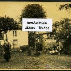 Fotografía antigua: ASTURIAS - COLUNGA. FOTOGRAFIA ORIGINAL DE 1930. GRAN FORMATO.. Lote 25071258