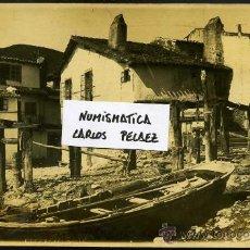Fotografía antigua: ASTURIAS - TAZONES. FOTOGRAFIA ORIGINAL DE 1930. GRAN FORMATO.. Lote 27453937