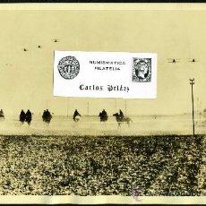 Fotografía antigua: FOTOGRAFIA GUERRA CIVIL(1936-39). TROPAS HACIA EL FRENTE CATALAN (26-ENERO-1939). GRAN FORMATO.. Lote 22446220