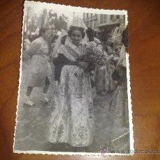 Fotografía antigua: FOTOGRAFIA ANTIGUA FALLERA ?. VALENCIA. Lote 22611380