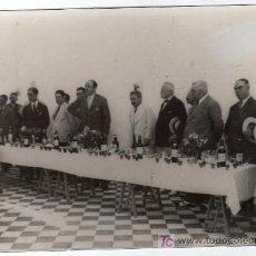 Fotografía antigua: PUERTO SANTA MARIA. INAUGAURACION DE LA CASA DE LA COLONIA OBRERA JEREZANA. 1930. Lote 12787504