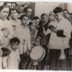 Fotografía antigua: PUERTO SANTA MARIA. HOSPITAL DE SAN JUAN DE DIOS INAUGURACION DE UN PABELLON. Lote 12788008