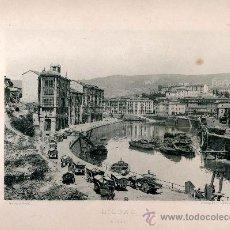 Fotografía antigua: LITOGRAFÍA HAUSER Y MENET. AÑO1890. BILBAO.- ACHURI. Lote 13816687